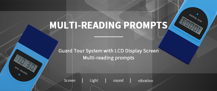 multi reading prompts durable guard tour system
