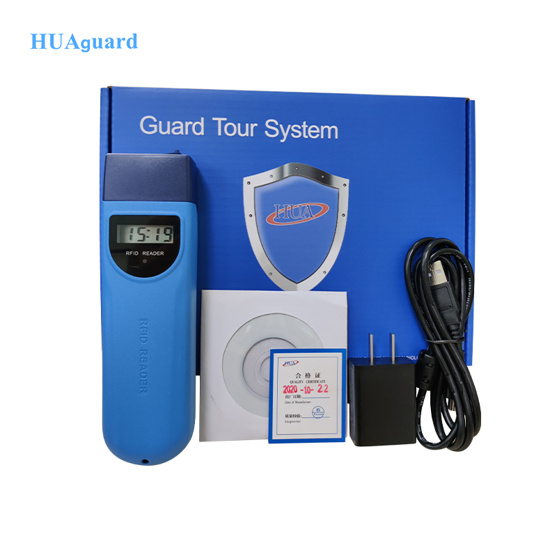 durable guard tour system with lcd display screen