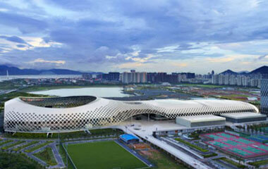 Hua Explosion-proof Intelligent Guard Patrol System Is Used By Huarun Shenzhen Bay Sports Central